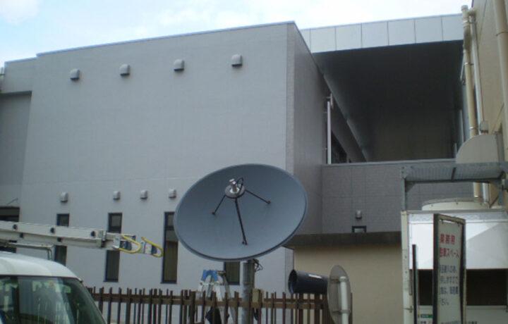 富山市 富山大学附属中央図書館(官公庁)海外衛星放送受信システム更新工事