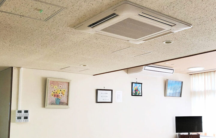 富山市 医療法人社団基伸会「栗山病院」(病院)空調設備工事
