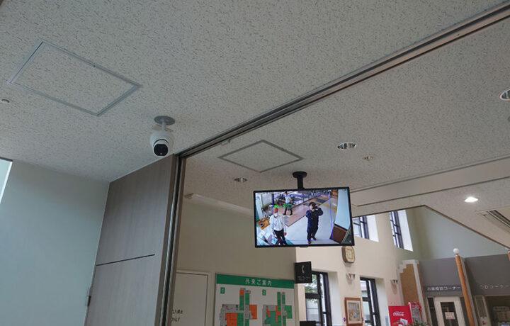 富山市 不二越病院(病院)体表面温度計測カメラ設置工事