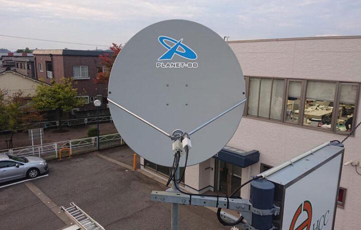 富山市林建設株式会社(企業 )海外衛星通信設備工事