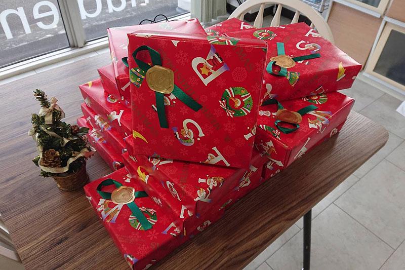 社長サンタさんからの贈り物