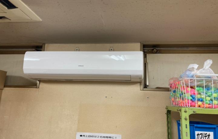 高岡市 ゲームスポット207パッケージエアコン入替工事
